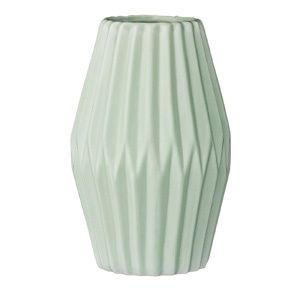 nice stuff: bloomingville vase fluted mint