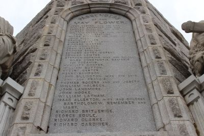 Passenger list of mayflower, Forefathers monument, Plymouth,Ma