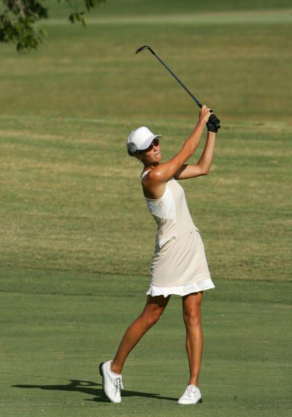 anna rawson playing golf australia celebrities. Black Bedroom Furniture Sets. Home Design Ideas