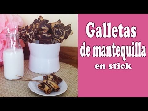 Receta de galletas de mantequilla - YouTube