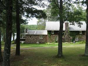 Al Capone's hideout.  North woods of  Wisconsin.