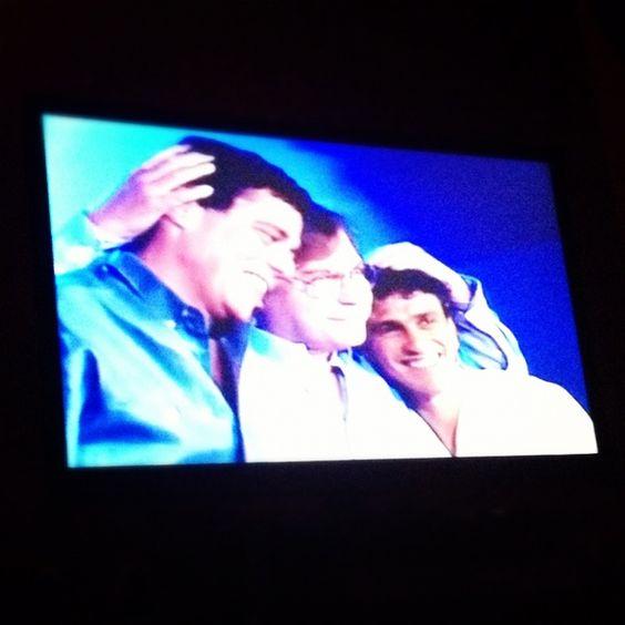 Chico, Tom e Caetano num especial antigo exibido no Canal Viva.