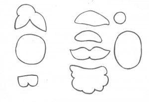 como fazer lembrancinha natal pregadores natalinos papai noel mamae noel arvore de natal boneco de neve (7)