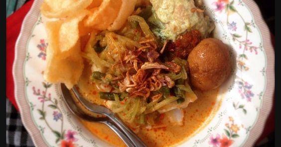 Resep Lontong Sayur Betawi Komplit Oleh Ibu Malka Resep Resep Makanan Resep Masakan