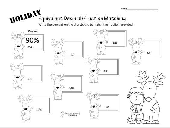 Squarehead Teachers FREEBIE Worksheet for equivalent decimals – Equivalent Decimals Worksheet