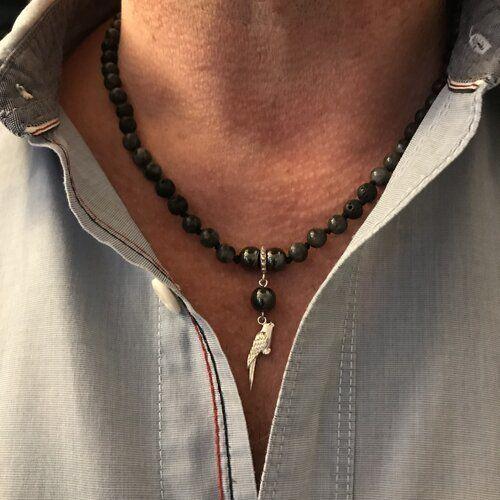 style de collier homme