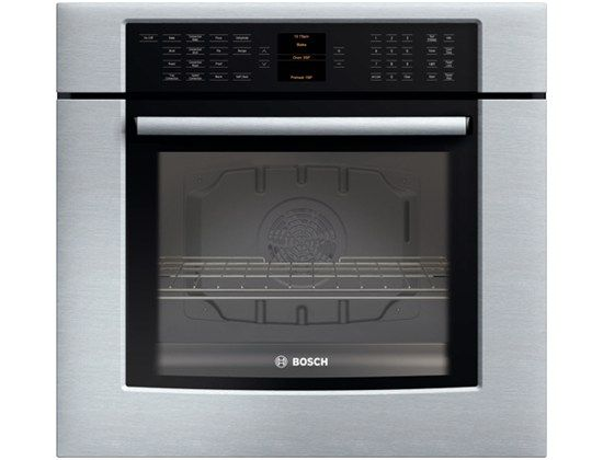 Bosch 30 Single Wall Oven 800 Series Stainless Steel Hbl8450uc Wall Oven Single Oven Electric Wall Oven