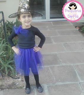 Pequena Sofia: Faça você mesmo (Fantasia para o Dia das Bruxas)