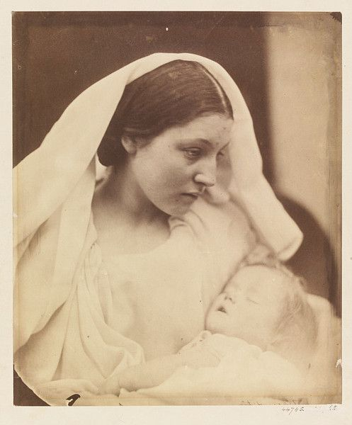 """La Madonna Riposata"" photo by Julia Margaret Cameron (1864)"