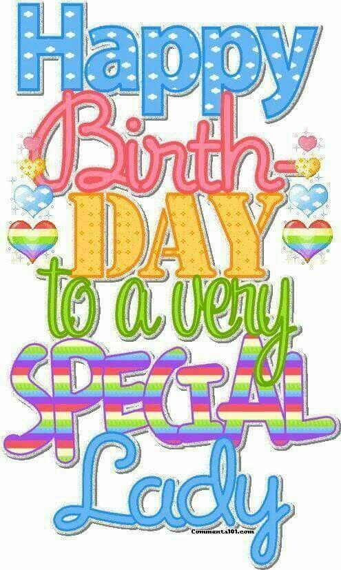 Pin On Happy Birthday Special Lady