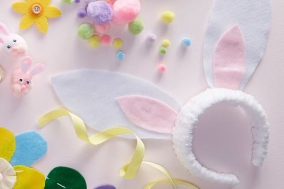 How to Make Easter Bunny Headbands