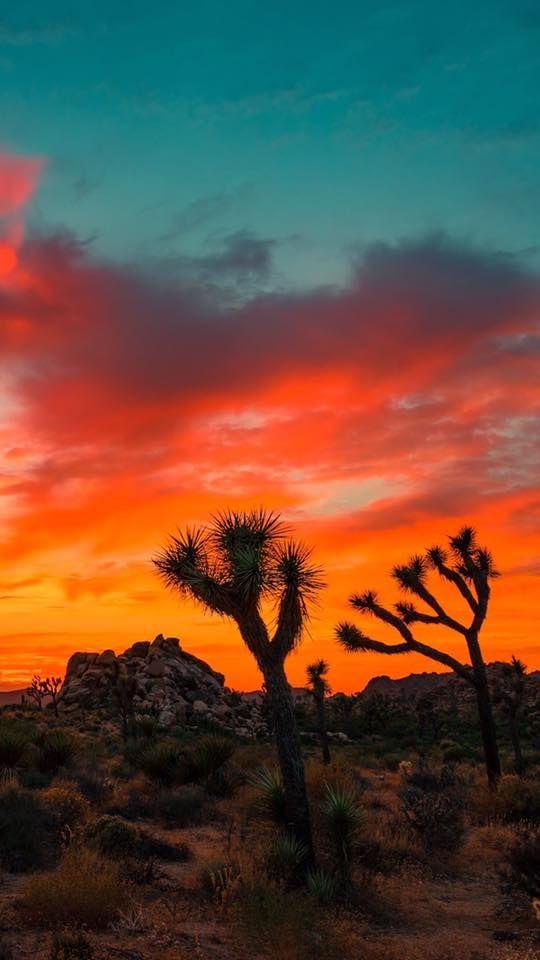 West Texas Sunset California National Parks California Wallpaper Sunset Wallpaper