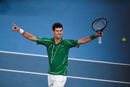 Djokovic Wins Record Extending Eighth Australian Open In 2020 Australian Open Novak Djokovic Rod Laver Arena