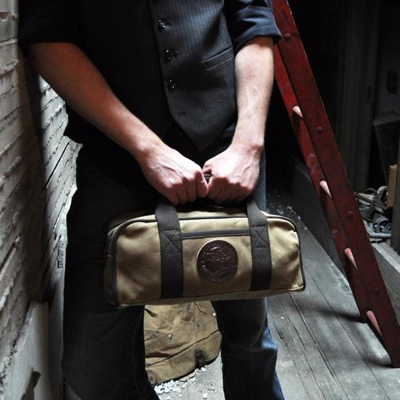 The Duluth Pack Ammo Bag. Made in USA. Guaranteed for life. http://duluthpack.com/ammo-bag.html