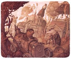 The Steam In The Willows by Felideus http://felideus.deviantart.com