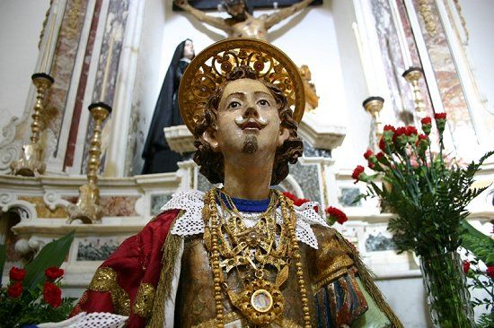 S. Efisio statue