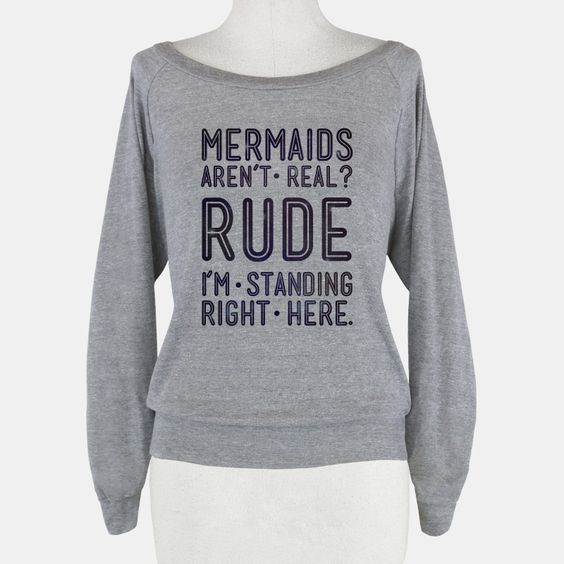 Mermaids Are Real | T-Shirts, Tank Tops, Sweatshirts and Hoodies | HUMAN