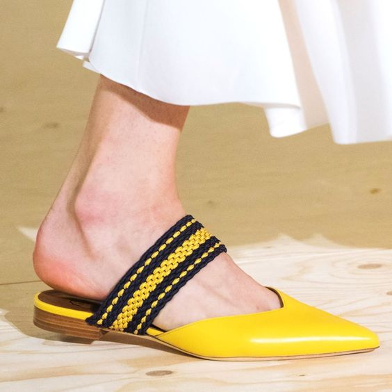 Prepare to Take Some Style Risks After Seeing the Genius Shoes at London Fashion Week: