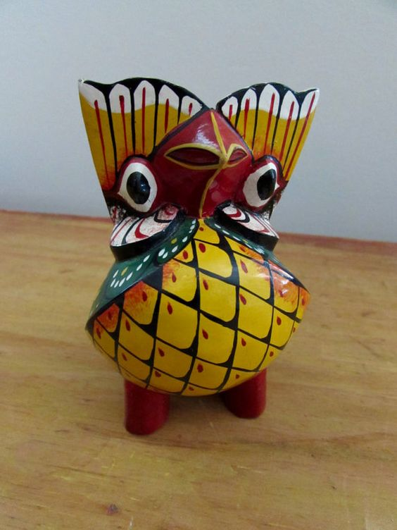 Vintage Oaxacan Owl by magpiesfancyshop on Etsy
