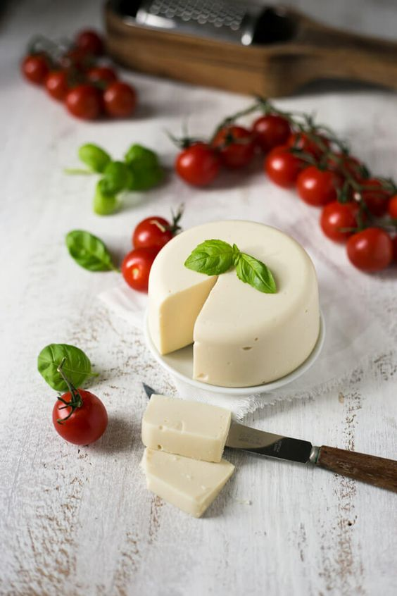 Vegan Mozzarella Cheese Recipe Vegan Mozzarella Vegan Cheese Recipes Recipes