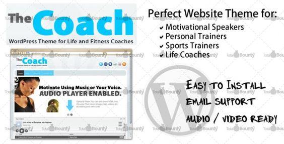 The Coach Consultant WordPress Theme