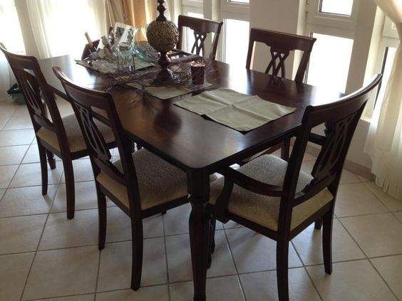 Dubizzle Dubai  Dining Sets Dinning Table With 6 Chairs 800Aed Cool Dining Room Furniture Dubai Inspiration