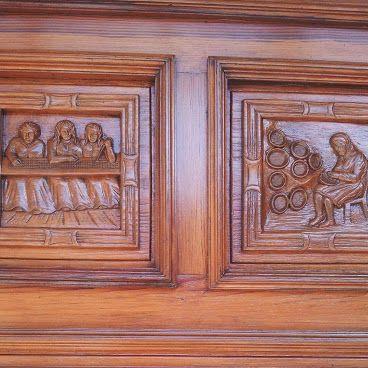 Puerta principal del taller artesano de La Guancha