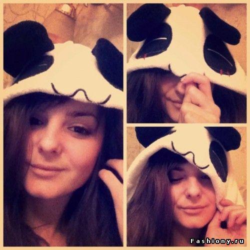 Костюм панды, например