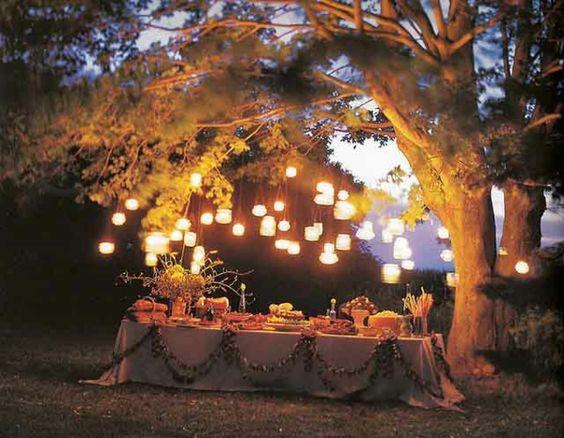 beleuchtung gartenparty – rekem, Garten Ideen