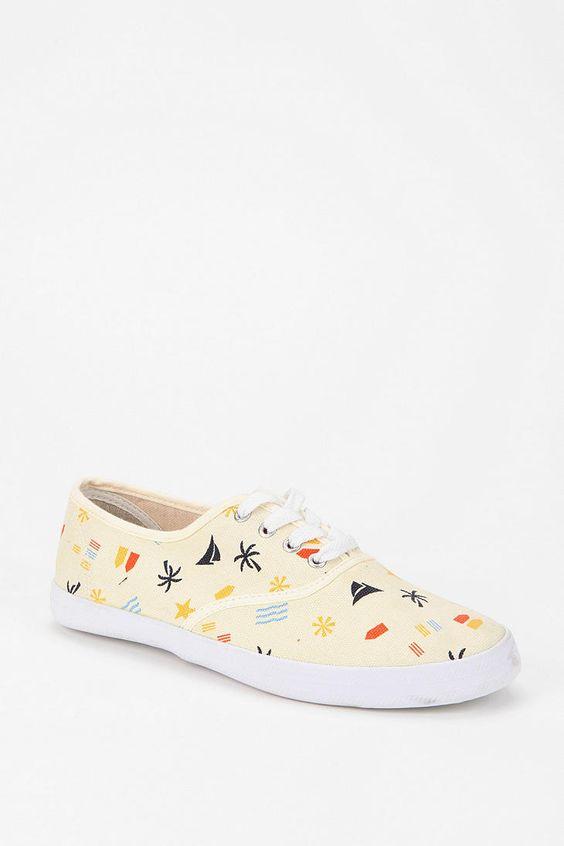Mimosa Seascape Plimsoll Sneaker