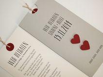 "Hochzeitskarte grau ""LOFTY"""