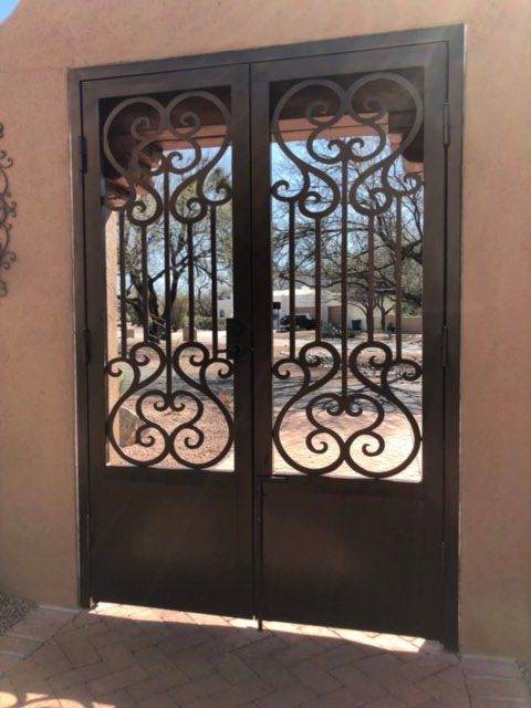 Wrought Iron Gates Ornamental Gates With Images Wrought Iron