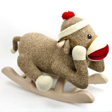 Rocking Sock Monkey http://shop.crackerbarrel.com/Rocking-Sock-Monkey ...