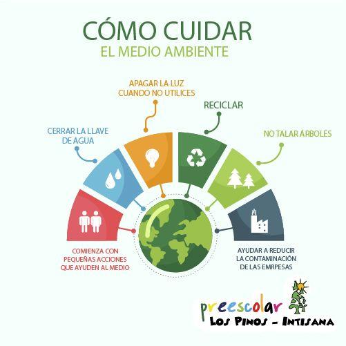 Como Cuidar El Medio Ambiente Aprende Mas En Esta Infografia