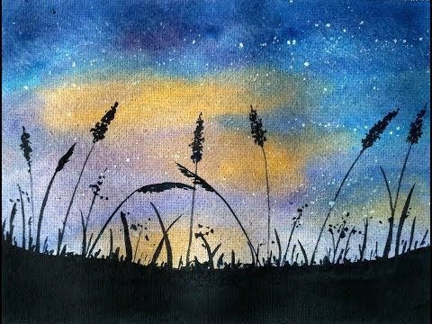 Simple Watercolor Landscape Painting For Beginners Paint With D