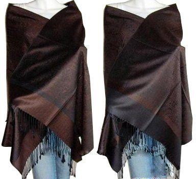 Elegant Paisley Jacquard Pashmina Scarf Wrap Stole **Multiple colors** $12.99