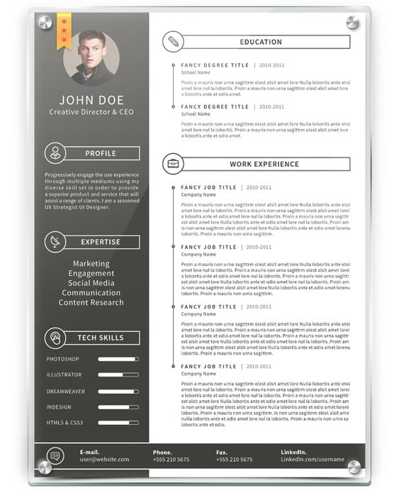 Hereu0027s a resume employers actually want to read Try this clean - fancy resume