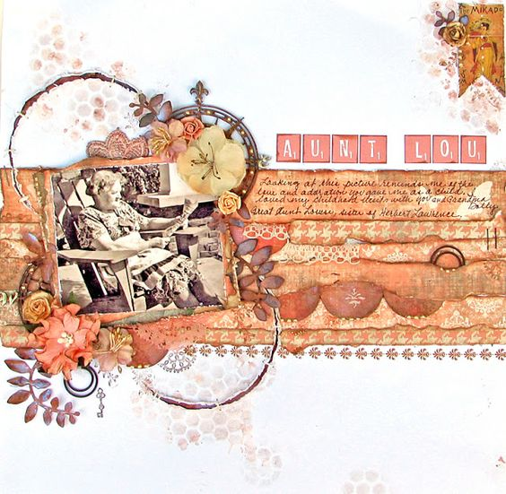 Scraps of Elegance: Aunt Lou (Designed for C'est Magnifique)