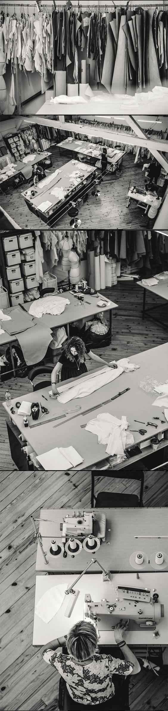 Laure de Sagazan  #workspace #fashion #atelier