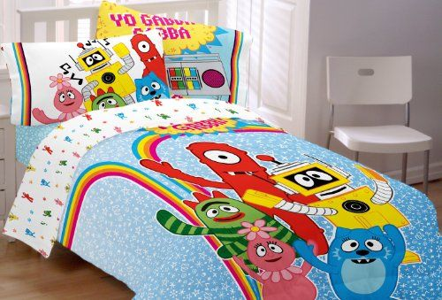 Twin Size Yo Gabba Gabba Bedding