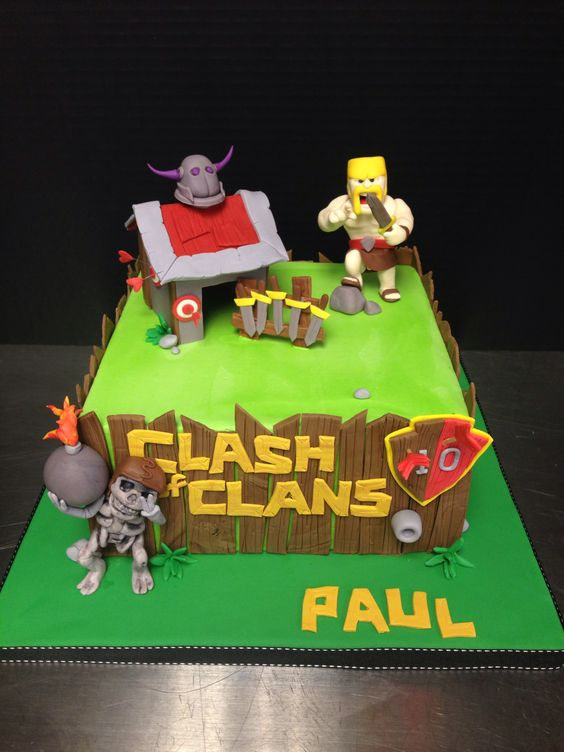 explore party cakes clash of clans and more clash of clans cakes