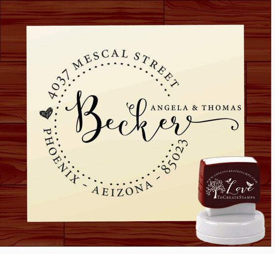 Wedding Stamps And Save The Date Stamp On Pinterest