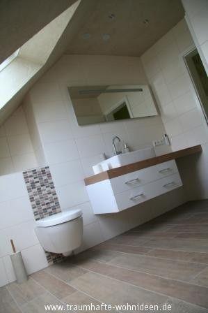 Fliesen in Holzoptik im Bad Bad Pinterest Holzoptik - badezimmer fliesen creme holzoptik