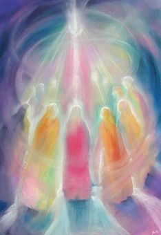 Self and Community ~ Pentacost in pastels, movingthesoulwithcolor.com: