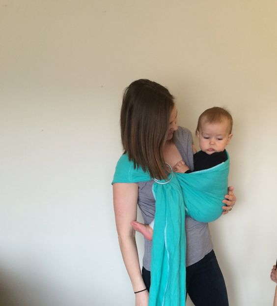 A personal favorite from my Etsy shop https://www.etsy.com/listing/207491548/100-linen-ring-sling-woven-baby-carrier