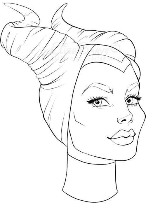 Maleficent Para Colorir Pinterest Maleficent Maleficent Coloring Pages