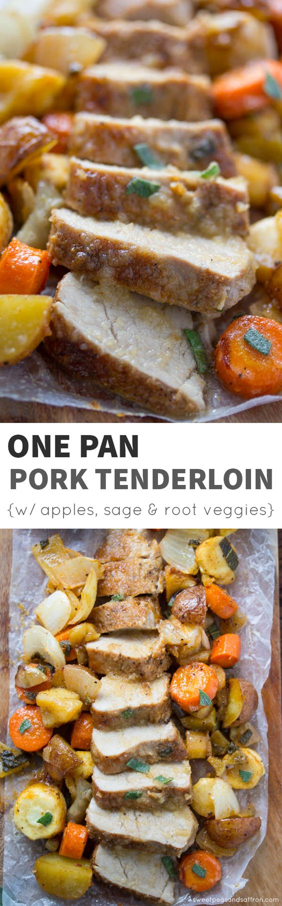 Pork tenderloin with apples, Roasted pork tenderloins and Pork ...
