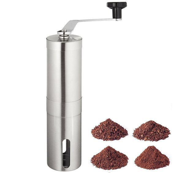 Panesor Portable Manual Hand Coffee Grinder with Adjustable Ceramic Burr * You can find out more details at the link of the image.
