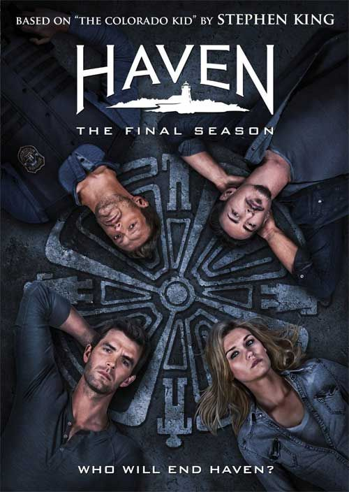 Haven - 'The Final Season' Front Covers for DVD, Blu-ray