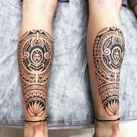 Marquesantattoosmaori Tatuaje Maori Tatuajes Polinesios Tatuajes Maori Pierna